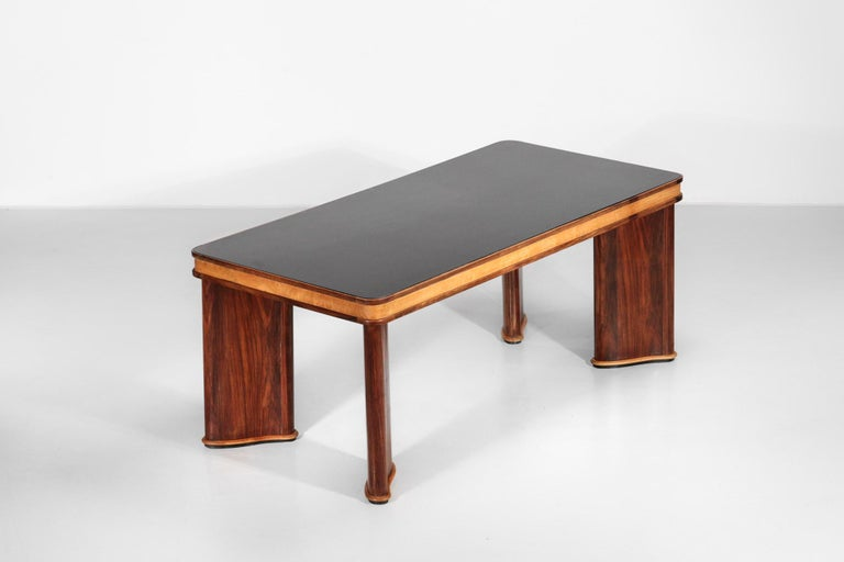 Dining table from 1950s attributed to Osvaldo Borsani.