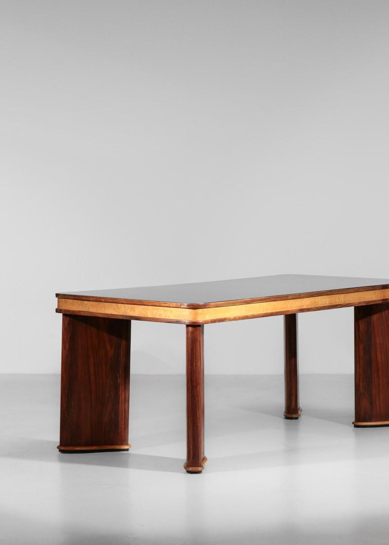 Italian Dining Table Attributed to Osvaldo Borsani, 1950s For Sale 3