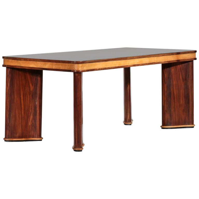 Italian Dining Table Attributed to Osvaldo Borsani, 1950s For Sale