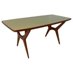 Italian Dining Table by 'La Permanente Mobili Cantù', Attributed to Gio Ponti
