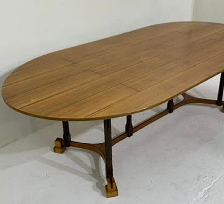 Italian dining table - c.1970 In Good Condition For Sale In Brussels, BE
