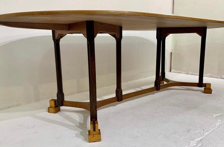 Late 20th Century Italian dining table - c.1970 For Sale
