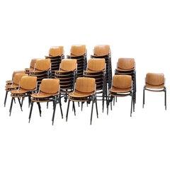 Italian DSC 106 Chairs by Giancarlo Piretti for Anonima Castelli, 1965