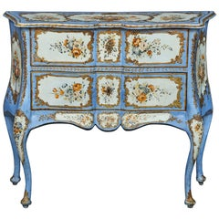 Italian Early 19th Century Baroque Style Specimen Cabinet from Florence