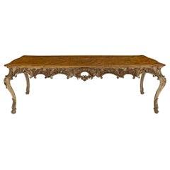 Italian Early 19th Century Louis XV Style Dinning Table