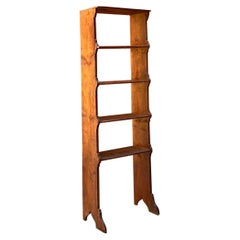 Italian Early Twentieth Century Rustic Bookcase with Shelves, 1900s