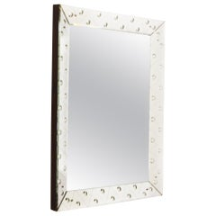 Italian Etched Mirror, circa 1940
