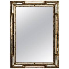 Italian Faux Bamboo Mirror