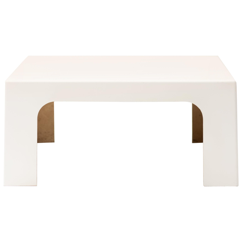 Italian Fiberglass Coffee Table