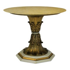Italian Finely Carved Giltwood Centre Table
