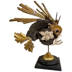 Italian Fish Sculpture Made of Fragments from the 18th and 19th Century