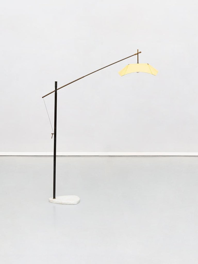 Italian floor lamp by Angelo Lelli for Arredoluce, from 1950s.
