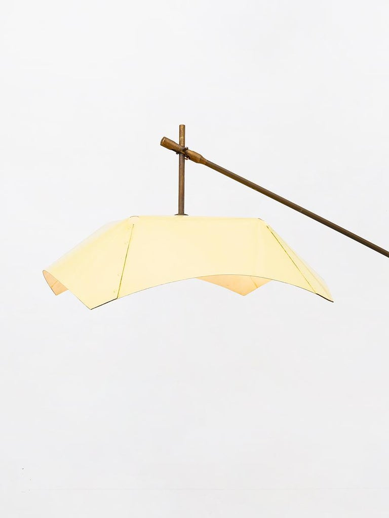 Italian Floor Lamp by Angelo Lelli for Arredoluce, from 1950s In Good Condition For Sale In MIlano, IT