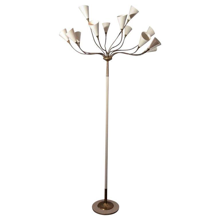 Italian Floor Lamp by Arteluce
