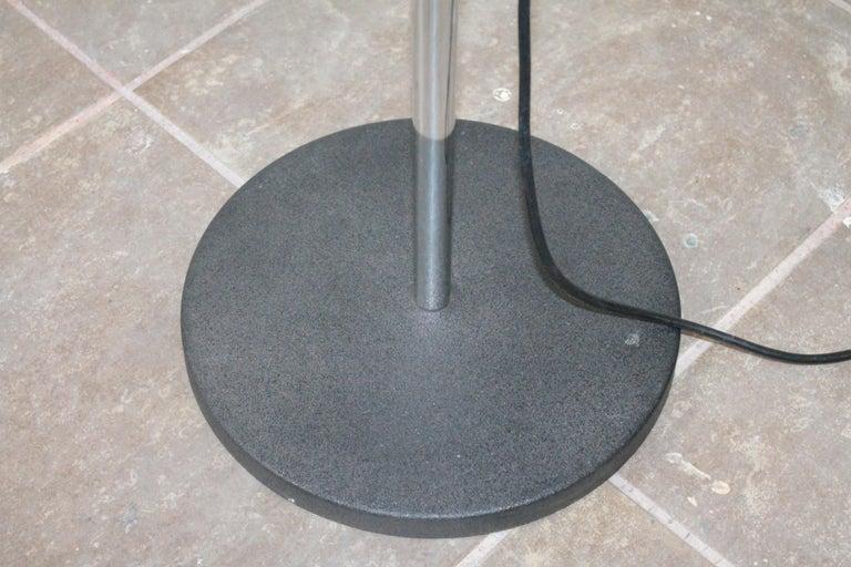 Iron Italian Floor Lamp Design Ernesto Gismondi for Artemide, 1970s For Sale