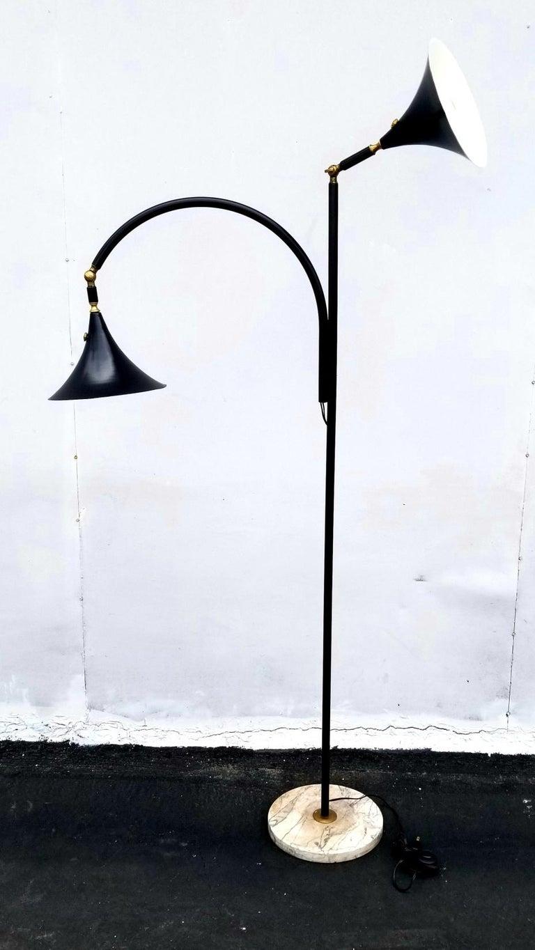 Mid-Century Modern Italian Floor Lamp For Sale