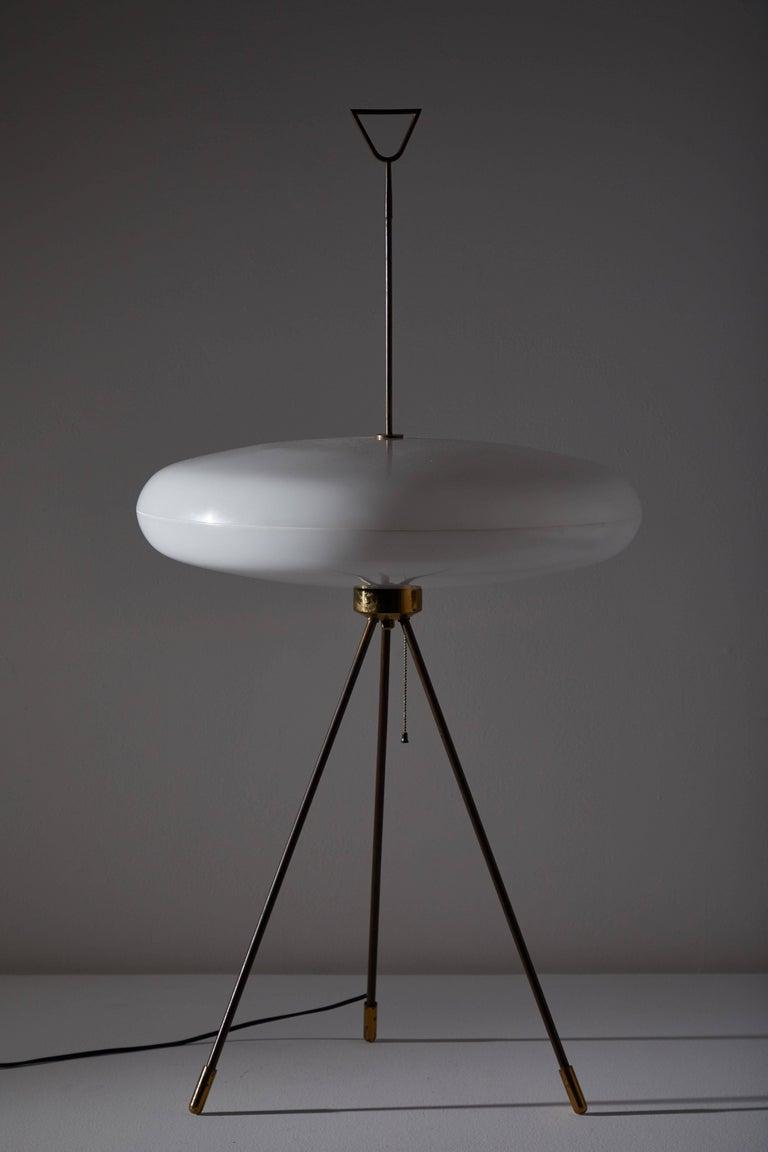 Brass Italian Floor Lamp For Sale