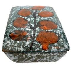 Italian Floral Ceramic Box