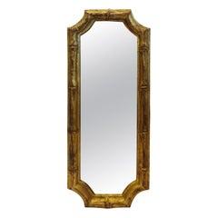 Italian Florentine Bamboo Style Mirror