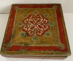 Italian Florentine Hand Painted Box