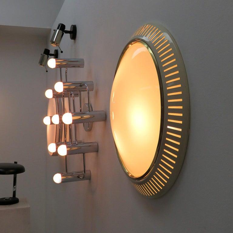 Italian Flush Mount Light, 1960 For Sale 3