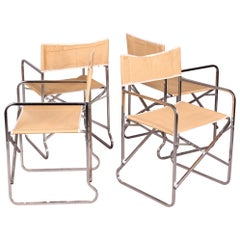 Italian Folding Armchairs