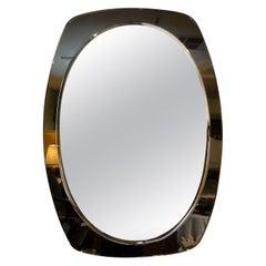 Italian Fontana Arte Inspired Beveled Mirror