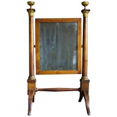 Italian Fruitwood Dressing Mirror