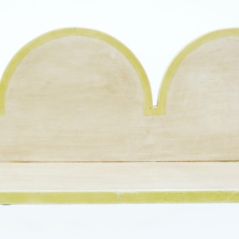Early 20th Century Italian 'Futurist' Bench, 1920s For Sale
