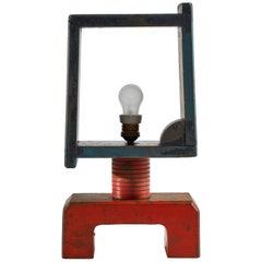 Italian Futurist Table Lamp