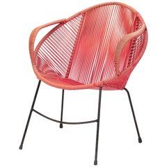 Italian Garden Lounge Chair, 1950s