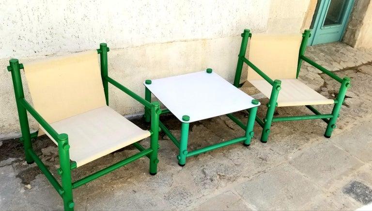 PVC Italian Garden Set by Merlett Tehnoplastic For Sale