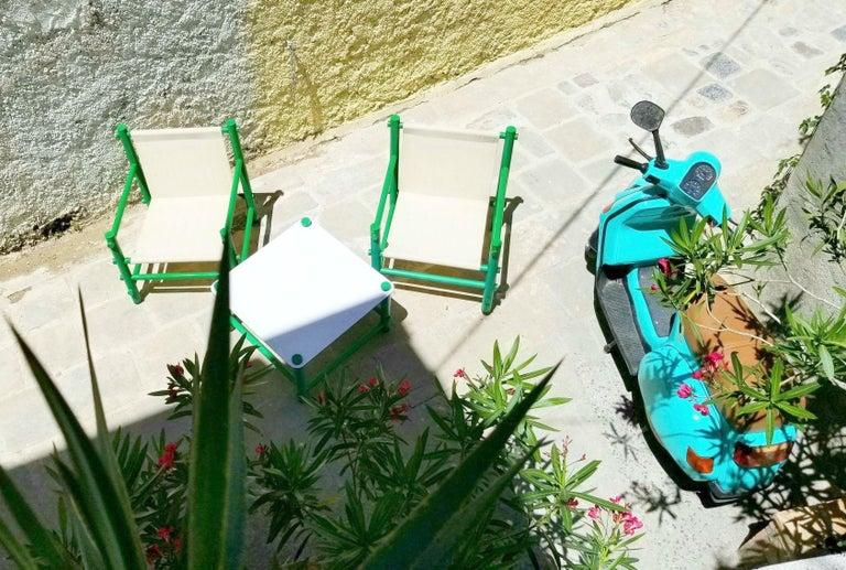 Italian Garden Set by Merlett Tehnoplastic For Sale 1