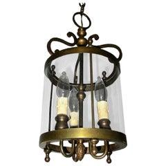 Italian, Genova, 20th Century Cylindrical Lantern