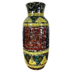 Italian Geometric Design Ceramic Vase