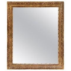 Italian Gilt Carved Mirror