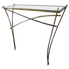 Metal Demi-lune Tables