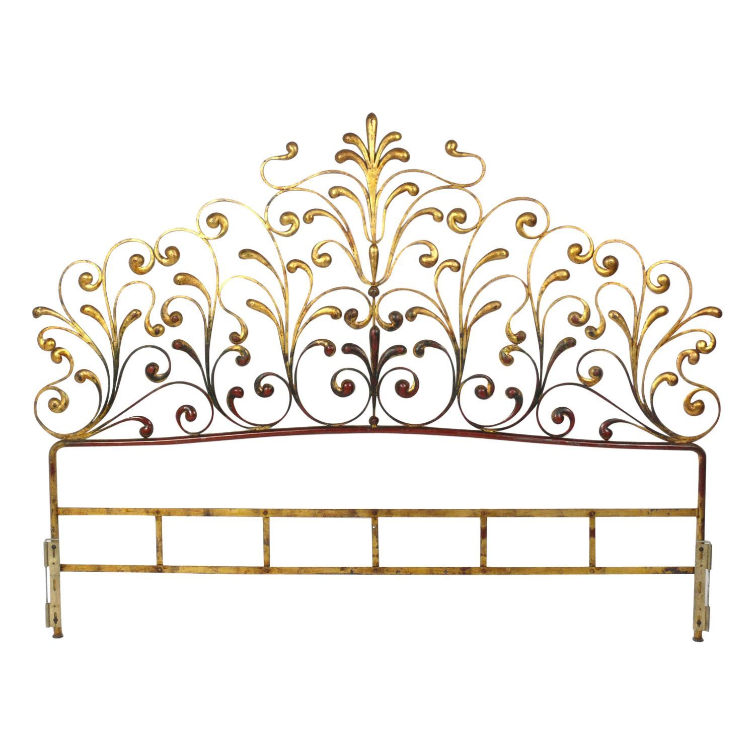 Italian Gilt King Size Headboard