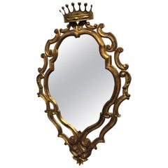 Italian Giltwood Mirror by Palladio