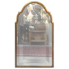 Italian Giltwood Mirror with Engraved Glass