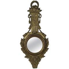 Italian Giltwood Mirror with Tassels
