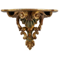 Italian Giltwood Wall Shelf
