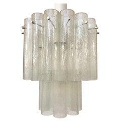 Italian Glass Ceiling Light, 4 Available