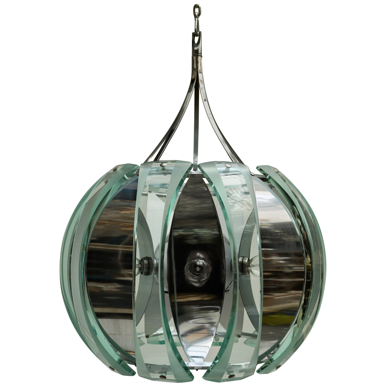 Italian Glass Chandelier
