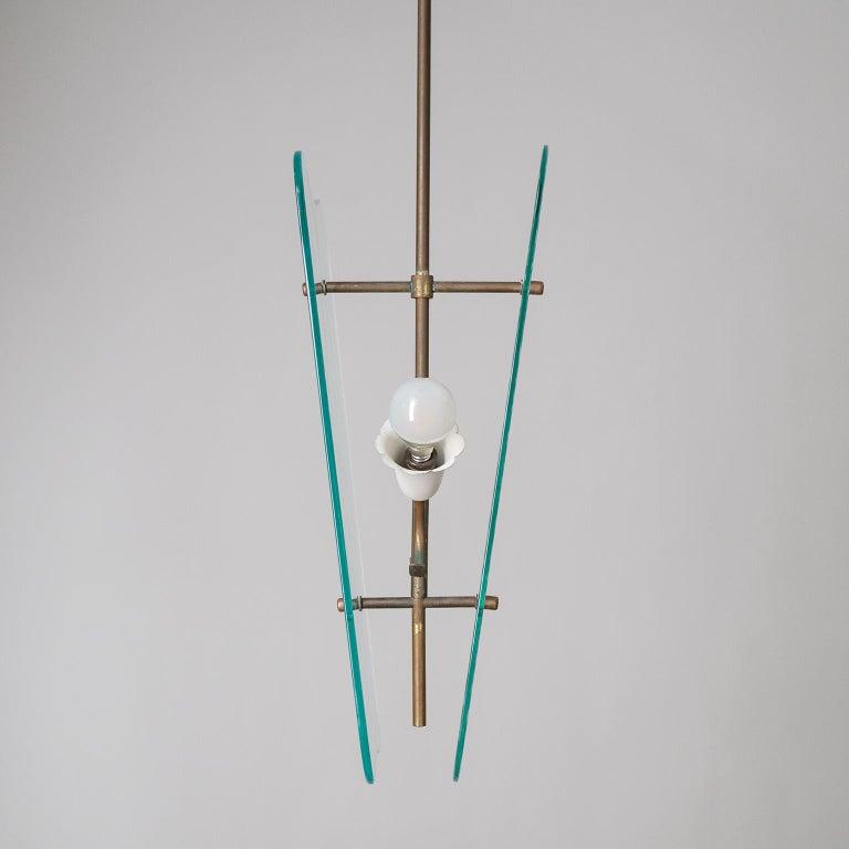 Italian Glass Lanterns, 1940s For Sale 6