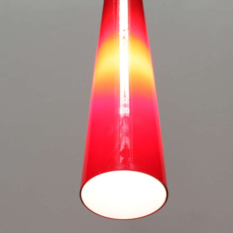Italian Glass Pendant by Venini For Sale 1