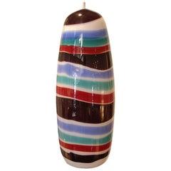 Italian Glass Pendant Light Massimo Vignelli for Venini