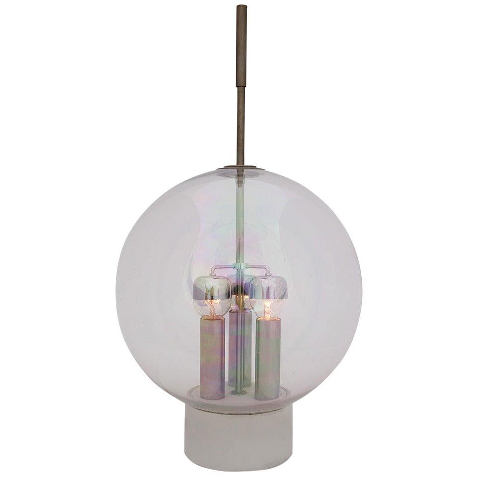 Italian Globe Table Lamp