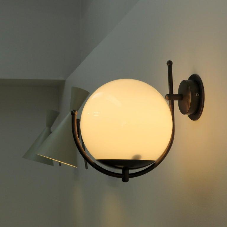 Italian Globe Wall Lights For Sale 3