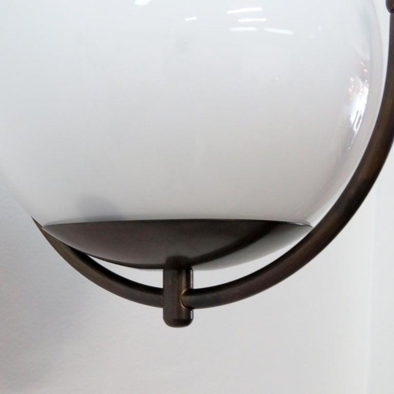 Glass Italian Globe Wall Lights For Sale
